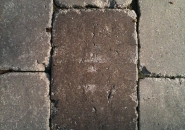 The cracks in this paver should have caused it to be rejected.