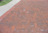 Poor drainage and soluble salts result in efflorescence