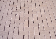 Loss of joint sand allows pavers to move, chip and erode
