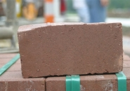 Clay pavers shrink during firing and may become deformed